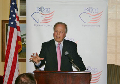 U.S. Rep. Ed Whitfield, R-Ky., speaking at a 2012 Ripon Society event.