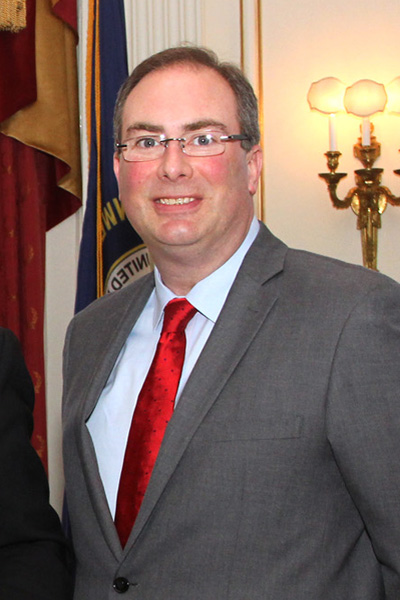 Timothy Longmeyer at a March 2015 Personnel Cabinet event.
